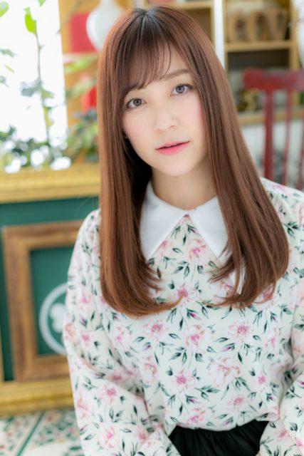 ウルツヤ☆大人かわいい3Dカラー小顔ロング