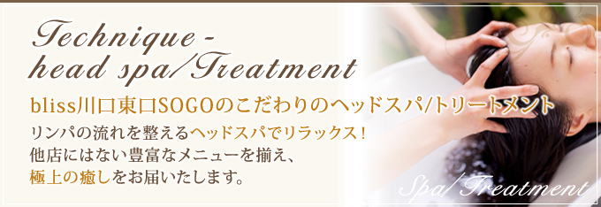 Headspa/Treatment