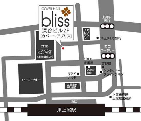 上尾駅からのアクセス